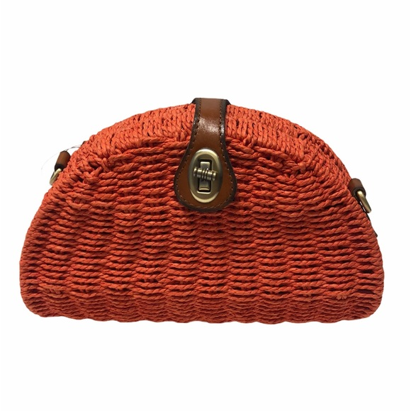 PATRICIA NASH WICKER BURNT CORAL BONELLA